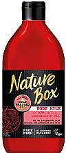 Parfumuri și produse cosmetice Lapte de corp - Nature Box Pomegranate Oil Body Milk