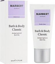 Parfumuri și produse cosmetice Deodorant roll-on - Marbert Bath & Body Classic Antiperspirant Roll-On