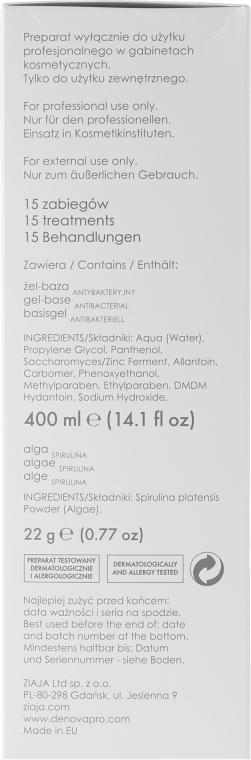 Mască gelatinoasă antibacteriană - Ziaja Pro Antibacterial Gel Mask — Imagine N3