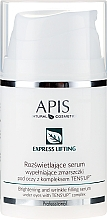 Parfumuri și produse cosmetice Ser pentru ochi - APIS Professional Express Lifting Brightening Filling Wrinkle Serum With Tens UP