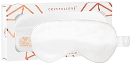 Parfumuri și produse cosmetice Mască din mătase pentru somn, fildeș - Crystallove