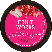 Parfumuri și produse cosmetice Ulei de corp - Grace Cole Fruit Works Body Butter Rhubarb & Pomegranate