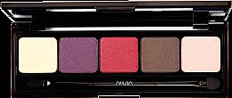 Parfumuri și produse cosmetice Paleta fard de ochi - Nouba Unconventional Palette Eyeshadow