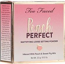 Parfumuri și produse cosmetice Pudră de față - Too Faced Peach Perfect Setting Powder Travel-Size