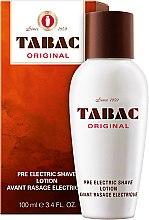 Parfumuri și produse cosmetice Maurer & Wirtz Tabac Original Pre Electric Shave - Loțiune de ras