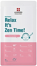 Parfumuri și produse cosmetice Mască relaxantă - Leaders Daily Wonders Relax It's Zen Time!