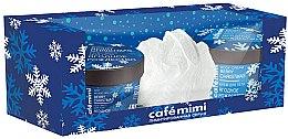 Parfumuri și produse cosmetice Set cadou - Cafe Mimi Berry Christmas Gift Set (b/soap/110ml + b/cr/110ml + sponge/1)