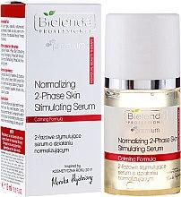 Parfumuri și produse cosmetice Ser facial stimulator - Bielenda Professional Individual Beauty Therapy Normalizing 2-Phase Skin Stimulating Serum