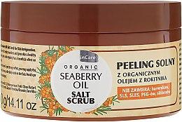 Parfumuri și produse cosmetice Scrub de sare pentru corp - GlySkinCare Organic Seaberry Oil Salt Scrub