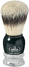 Parfumuri și produse cosmetice Pămătuf de ras, 10275, negru - Omega