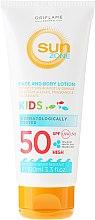 Parfumuri și produse cosmetice Lapte protecție solară, SPF 50 - Oriflame Sun Zone Face & Body Lotion