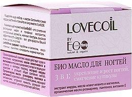 Духи, Парфюмерия, косметика Био-масло для ногтей 3 в 1 - ECO Laboratorie Lovecoil Nail Care Bio-Oil 3 in 1