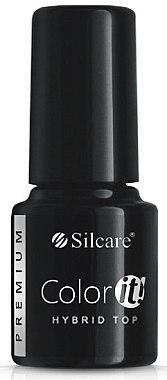 Lac de finisaj pentru unghii - Silcare Color IT Premium Hybrid Top Coat Gel — Imagine N1