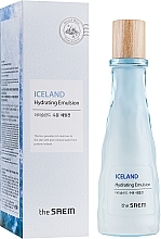 Parfumuri și produse cosmetice Emulsie minerală hidratantă - The Saem Iceland Hydrating Emulsion