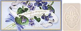 """Parfumuri și produse cosmetice Set săpunuri de toaletă """"Violete"""" - Saponificio Artigianale Fiorentino Violet"""