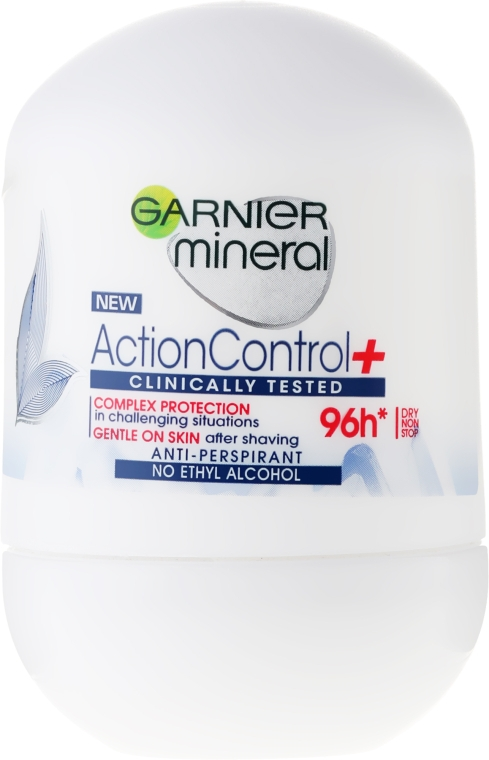 Deodorant - Garnier Mineral Action Control Clinical Rulldeodorant