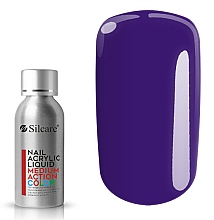 Parfumuri și produse cosmetice Acryl pentru unghii - Silcare Nail Acrylic Liquid Medium Action Color