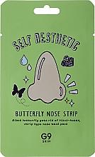 Parfumuri și produse cosmetice Patch împotriva punctelor negre de pe nas - G9Skin Self Aesthetic Butterfly Nose Strip