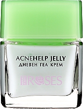 Parfumuri și produse cosmetice Gel-cremă de zi cu ulei de arbore de ceai - Nature of Agiva Roses Acnehelp Jelly Daily Cream