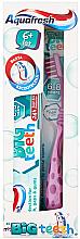 Parfumuri și produse cosmetice Set - Aquafresh My Big Teeth (Toothpaste/50ml + Toothbrush/1 buc)