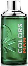 Parfumuri și produse cosmetice Benetton Colors Man Green - Apă de toaletă