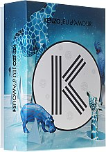 Parfumuri și produse cosmetice Kenzo Jeu d'Amour - Set (edp/50ml+b/milk/50ml+sh/gel/50ml)