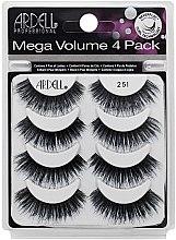 Parfumuri și produse cosmetice Set gene false - Ardell Mega Volume 4 Pack 251 Lashes (8 buc.)