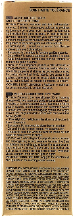 Cremă pentru pleoape - Noreva Laboratoires Noveane Premium Multi-Corrective Eye Care — Imagine N5