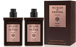 Parfumuri și produse cosmetice Acqua di Parma Colonia Leather Eau de Cologne Travel Spray Refill - Apă de colonie