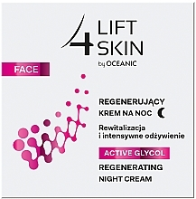 Parfumuri și produse cosmetice Cremă de noapte - Lift4Skin Active Glycol Regenerating Night Cream