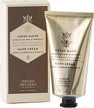 """Parfumuri și produse cosmetice Cremă de mâini """"Miere și Propolis"""" - Panier Des Sens Royal Heand Cream"""