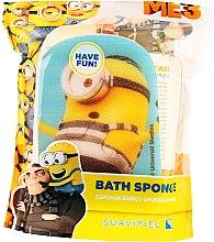 """Parfumuri și produse cosmetice Burete de baie pentru copii """"Minions"""", galbenă, prizonierul Karl - Suavipiel Minnioins Bath Sponge"""