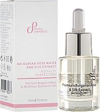 Parfumuri și produse cosmetice Ser regenerant pentru pleoape - Hristina Cosmetics Sayaz Premium Bulgarian Rose & Silk Extract Eye Serum 24H