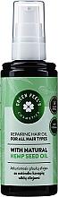 Parfumuri și produse cosmetice Ulei regenerant de păr - Green Feel's Repairing Hair Oil