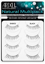 Parfumuri și produse cosmetice Extensii gene - Ardell Natural Multipack Babies Black