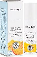 Parfumuri și produse cosmetice Cremă-mască intensiv hidratantă de noapte pentru față - Organique Hydrating Therapy Night Face Cream-Mask