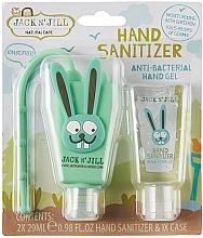 "Parfumuri și produse cosmetice Set-sanitizer ""Rabbit"" - Jack N' Jill Hand Sanitizer (Bunny)"