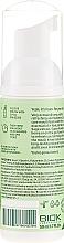 Spumă cu ulei de mentă și betaină naturală pentru cavitatea bucală - Ecodenta Mouthwash Refreshing Oral Care Foam — Imagine N2