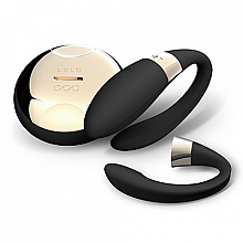 Parfumuri și produse cosmetice Vibro masajor pentru cupluri, negru - Lelo Tiani 2 Design Edition