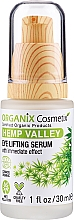 Parfumuri și produse cosmetice Ser cu efect de lifting pentru zona ochilor - Organix Cosmetix Hemp Valley Eye Lifting Serum