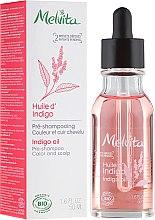 Parfumuri și produse cosmetice Ulei de păr - Melvita Organic Pre-Shampoo Indigo Oil