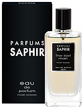 Parfumuri și produse cosmetice Saphir Parfums The Last Man - Apă de parfum