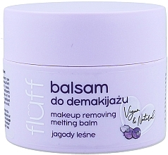 Parfumuri și produse cosmetice Balsam Demachiant - Fluff Makeup Remover Balm Wild Blueberries