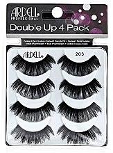 Parfumuri și produse cosmetice Set gene false - Ardell Double Up 4 Pack 203 Lashes (8 buc.)