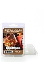 Parfumuri și produse cosmetice Ароматический воск - Kringle Candle Cognac & Leather Wax Melt