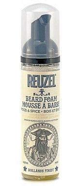 """Spumă-balsam pentru barbă """"Arbore și Mirodenii"""" - Reuzel Beard Foam Wood And Spice"""