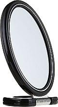 Parfumuri și produse cosmetice Oglindă cu 2 fețe, 9503, neagră - Donegal Mirror