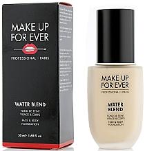 Parfumuri și produse cosmetice Fond de ten - Make Up For Ever Water Blend Foundation