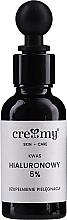 Parfumuri și produse cosmetice Acid hialuronic 5% - Creamy