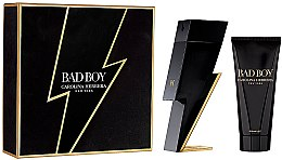 Parfumuri și produse cosmetice Carolina Herrera Bad Boy - Set (edt/100ml + sh/gel/100ml)